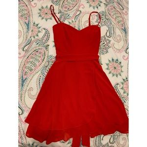 Red Rose B. Darlin Dress